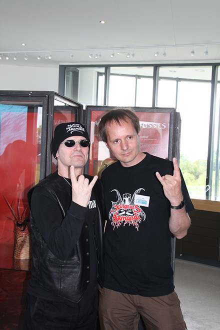King Diamond and Jesper Milan